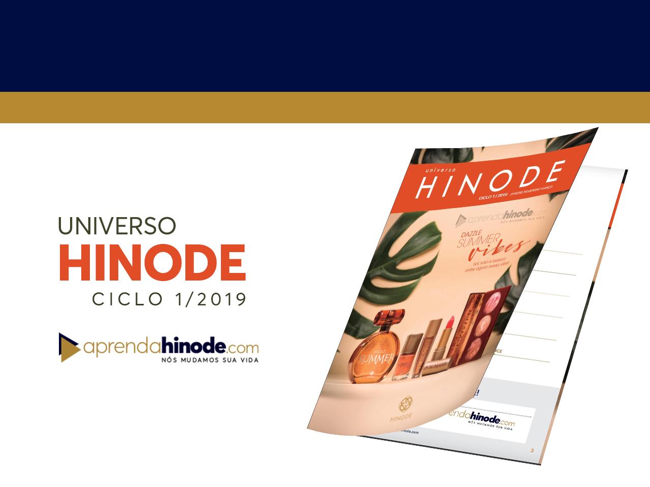 Photo of BAIXE AGORA: Novo Catálogo Universo Hinode Ciclo 1/2019- Download PDF